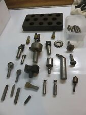 Mill Tooling, Key Cutters, Boring tools, Bits, and More