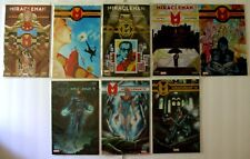 Lot of 8 MIRACLEMAN Marvel Comic Books Issues 1, 2, 3, 4, 5, 11, 12, 14