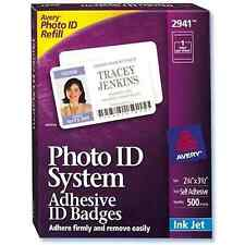 Visitor Photo ID Badge - Avery Replacement 2940 / 2941