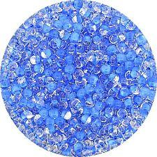 Farfalle Glasperle kristall blau 4,0 mm 17 g