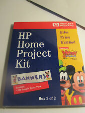 Hewlitt Packard Home Project Kit withDisney's Mickey & Friends ( Box 2 of 2)