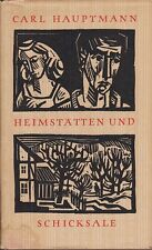 Peter Opitz (ill.): Carl Hauptmann, Heimstätten und Schicksale   1958