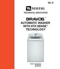 Maytag Bravos Washer 6th Sense Service - Repair Manual