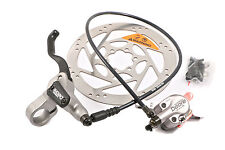 SET SHIMANO DEORE HYDRAULIC FRONT DISC BRAKEMADE FOR LEFT HAND DRIVE M555+ RT60