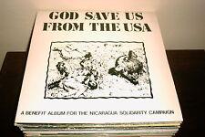 """V/A GOD SAVE US FROM THE USA 12"""" LP UK SAMPLER PUNK  SKA"""