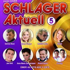 MATTHIAS REIM/ROLAND KAISER/SEMINO ROSSI/+ - SCHLAGER AKTUELL 5  (2 CD)  NEUF