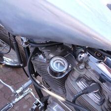 Tacho Mini Motorrad Tachometer Vintage Style mit LED Kontrolleuchten inkl ABE