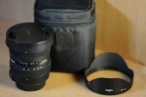 Sigma 10-20mm F/3.5 EX DC HSM Lens for Nikon AS NEW!