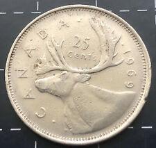 1969 CANADA 25 CENTS COIN - CANADIAN 25 CENT *1