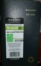 """2021-2022 Pocket Calendar by At-A-Glance 2 Year Monthly Planner 3-1/2"""" x 6"""" New"""