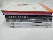 Ballet Dvd Lot Set Barre Fitness Bar Conditioning Cardio Barre