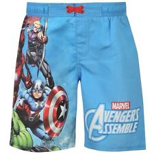 ca8c0880df16e Boys Marvel Avengers Assemble Board Shorts Trunks Ages 9-10 11-12 and 13