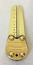 Antique 1911 Brass Harp String Gauge  Made for Lyon & Healy Chicago