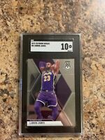 LeBron James - 2019-20 Panini Mosaic #9 SGC 10 GEM MINT