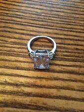 Swarovski Stones Size 7.5 Kiera Couture Sterling Silver Ring