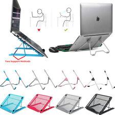 Adjustable Laptop Macbook Notebook iPad Tablet Stand Desk Holder Riser Support
