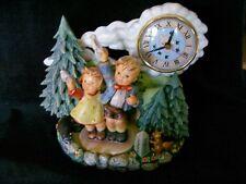 "M I Hummel ""AufWiedersehen with Clock "" Hum #153/1 TM 8 by Goebel"