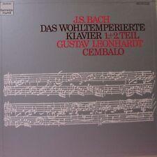 J.S. BACH Das Wohltemperierte Klavier 5 LP Box Set -153-99752/56-HARMONIA MUNDI