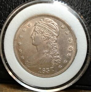 1837 Capped Bust Half with Super Detail