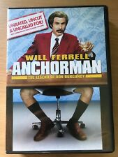 ANCHORMAN ~ Original 2004 Comedy Classic Unrated Uncut Uncalled For R1 US DVD