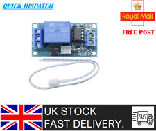 DC 12V 1-Channel Latching 250VAC Relay Module Touch Bistable Switch Cable UK