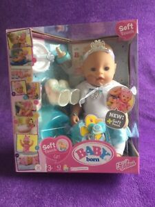 BABY BORN 43CM SOFT TOUCH ICE BALLERINA DOLL. AGE SUITABILITY 3 YEARS +
