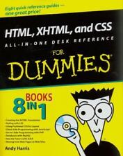 HTML, XHTML, and CSS by Andy Harris and Chris McCulloh (2008, Paperback)