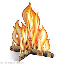Western 3-D CAMPFIRE CENTERPIECE Party Decoration Wild West PIONEER Camping