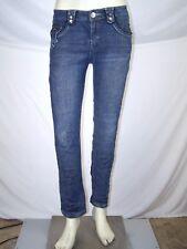 Baby Phat Girlz Blue Sequin 4 Pocket Denim Jeans Girls Youth Size 14
