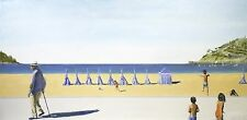 "Set of 3 Signed Original Prints of ""On the Beach"" ""The Girl"" and ""San Sebastian"""