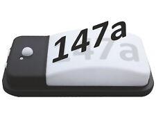LED Wandleuchte IP65 mit Bewegungsmelder TAG NACHT Sensor Hausnummer Leuchte