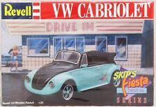 Revell 1989 Volkswagen VW Cabriolet 1:25 Model Kit Skip's Fiesta Series 7151 New