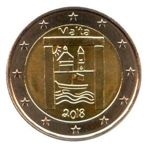 2 Euro Münze Malta 2018 Kulturerbe Gedenkmünze Sondermünze