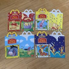McDonalds Happy Meal Box Set Winnie the Pooh Disney Fast Food Collector
