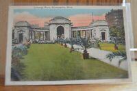 Gateway Park - Minneapolis Minnesota C 1933 Postcard