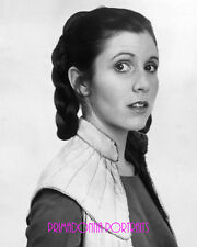 "CARRIE FISHER 8X10 Lab B&W Photo 1970s ""Star Wars"" Princess LEIA Portrait"