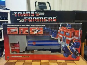 Transformers Ceji Optimus Prime G1 Red Feet Boxed