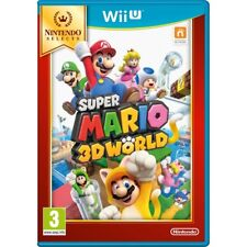 Super Mario 3D World Game Wii U (Selects) Brand New