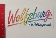 Aufkleber/Sticker: Wolfsburg - Die Volkswagenstadt (19031675)