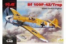 ICM 48105 1/48 Bf 109F-4Z/Trop WWII German Fighter