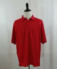 CORNERSTONE MENS SHIRT SIZE XL X-LARGE RED POLO GOLF TACTICAL MIC & PEN POCKET