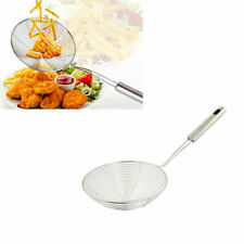 Stainless Steel Spider Strainer Skimmer Ladle Long Handle for Cooking and Frying