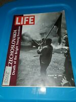 Vintage Life Magazine August 30 1968 USSR Invades Czechoslovakia VTG Mob Mafia