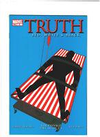 Truth: red, White & Black #3 NM- 9.2 Marvel Isaiah Bradley, Captain America