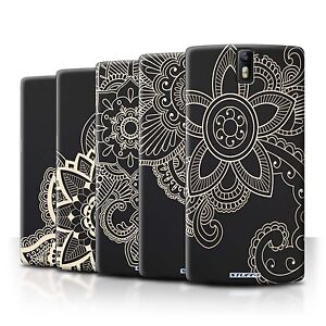 STUFF4 Back Case/Cover/Skin for OnePlus One/Henna Tattoo