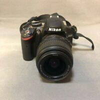 Nikon D D3200 24.2MP Digital SLR Camera - Black (Kit w/ AF-S 18-55mm)👍👍👍👍