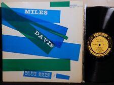 MILES DAVIS Blue Haze LP PRESTIGE PRLP 7054 MONO DG RVG NYC 1956 Jazz