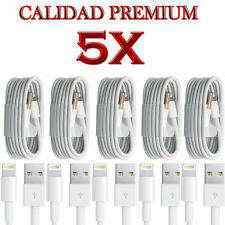 5X 8 pin USB Cable datos cargador cable de sincronización para iPhone 7 6 s +