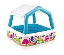Intex 57470 piscina acquario con parasole multicolore cm157x157x122 per bambini