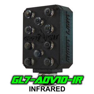 Ghost Light ™ GL7-ADV IR Infrared LED Night Vision Camera Illuminator - Black